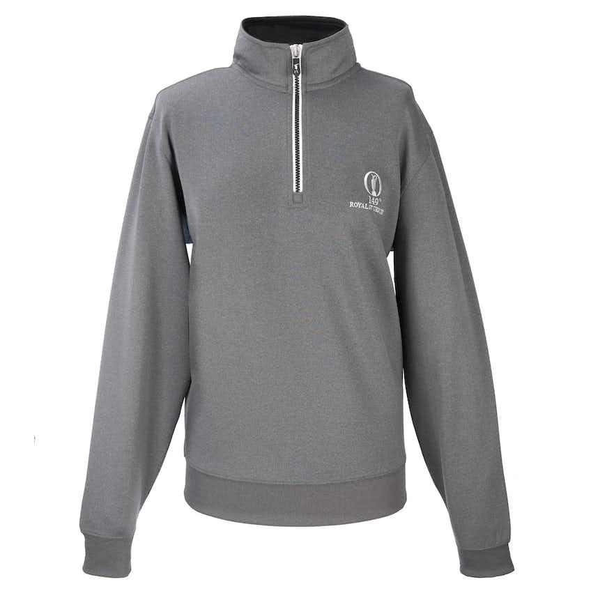149th Royal St George's Fairway & Greene 1/4-Zip Layer Sweater - Grey