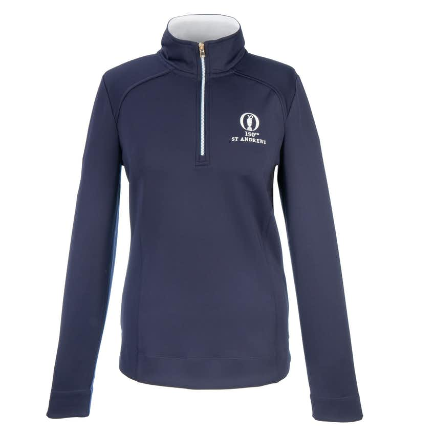 150th St Andrews Fairway & Greene 1/4-Zip Sweater - Blue