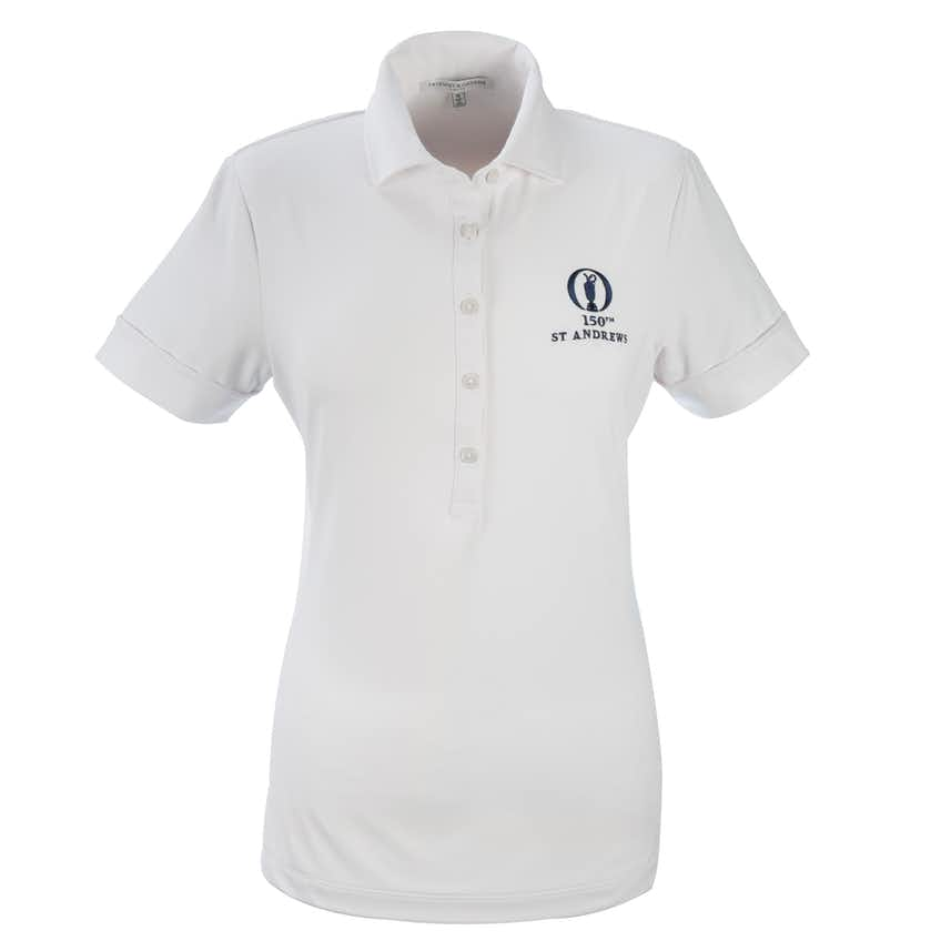 150th St Andrews Fairway & Greene Plain Polo - White