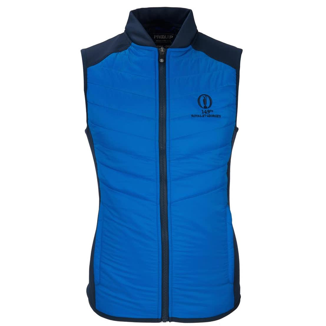 149th Royal St George's ProQuip Gilet - Blue