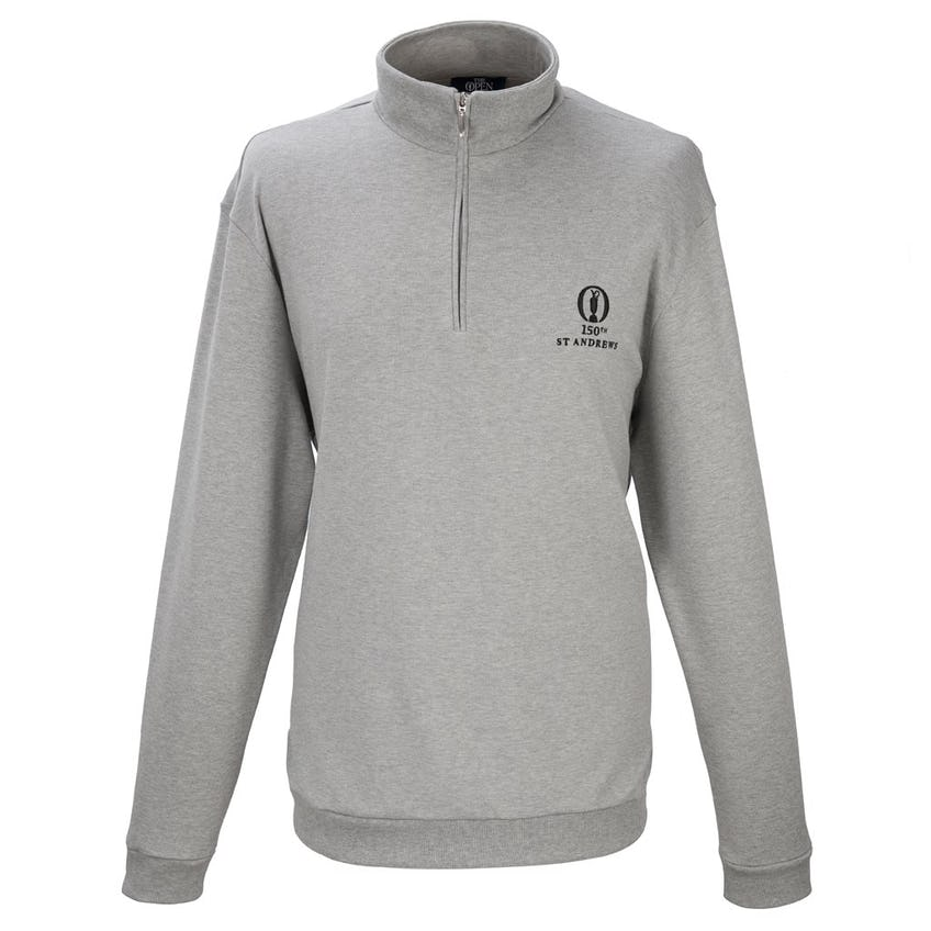 150th St Andrews Marbas 1/4-Zip Layer Sweater - Grey 0