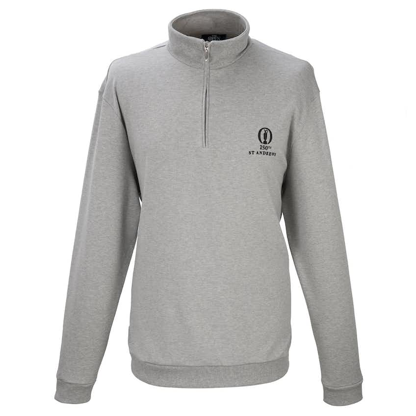 150th St Andrews Marbas 1/4-Zip Layer Sweater - Grey