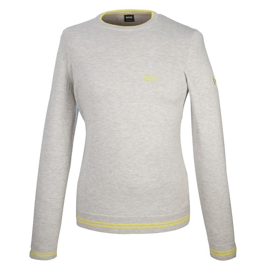 The Open BOSS Crew-Neck Sweater - Grey