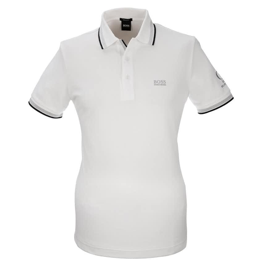149th Royal St George's BOSS Paddy Plain Polo - White