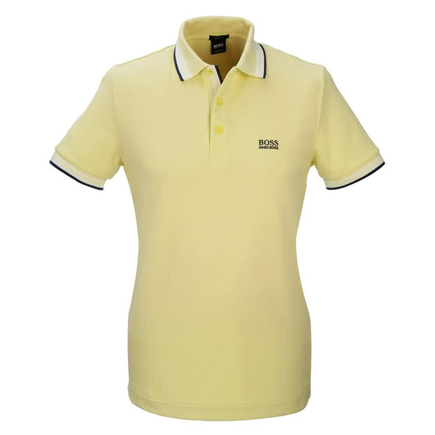 The Open BOSS Paddy Plain Polo - Yellow