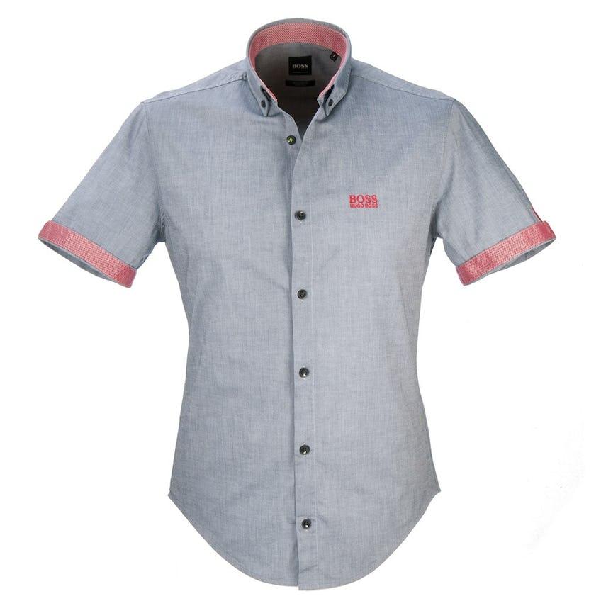 The Open BOSS Short-Sleeve Shirt - Grey 0