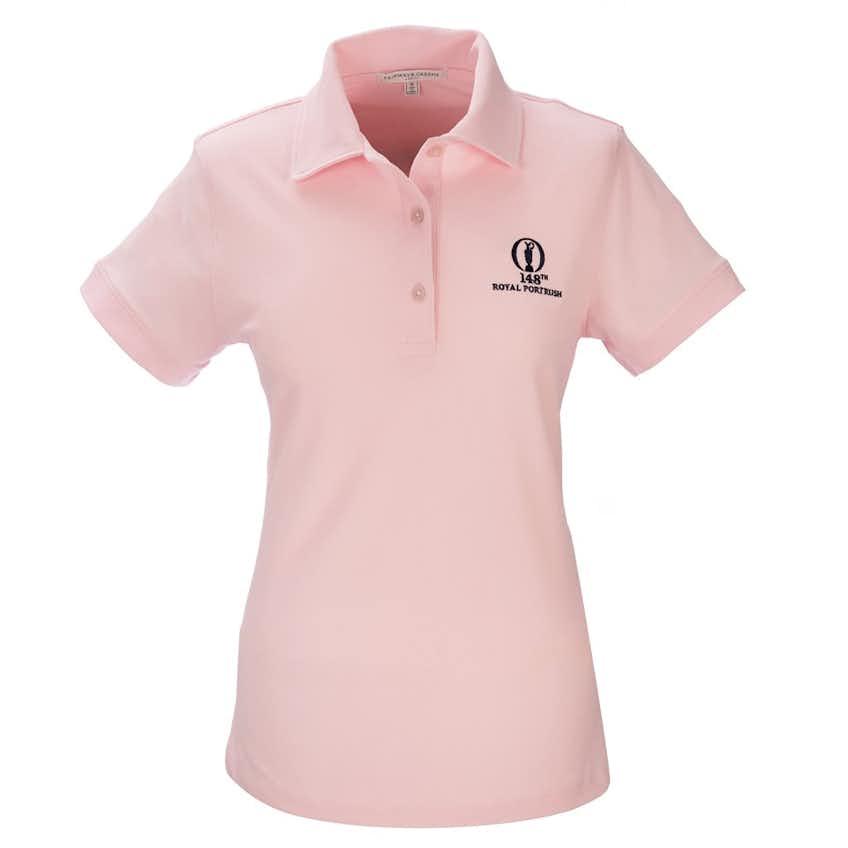 148th Royal Portrush Fairway & Greene Plain Polo - Pink
