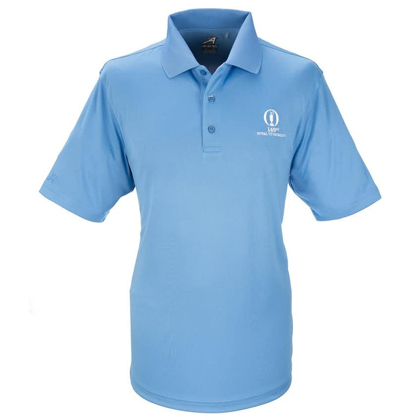 149th Royal St George's Plain Polo - Blue