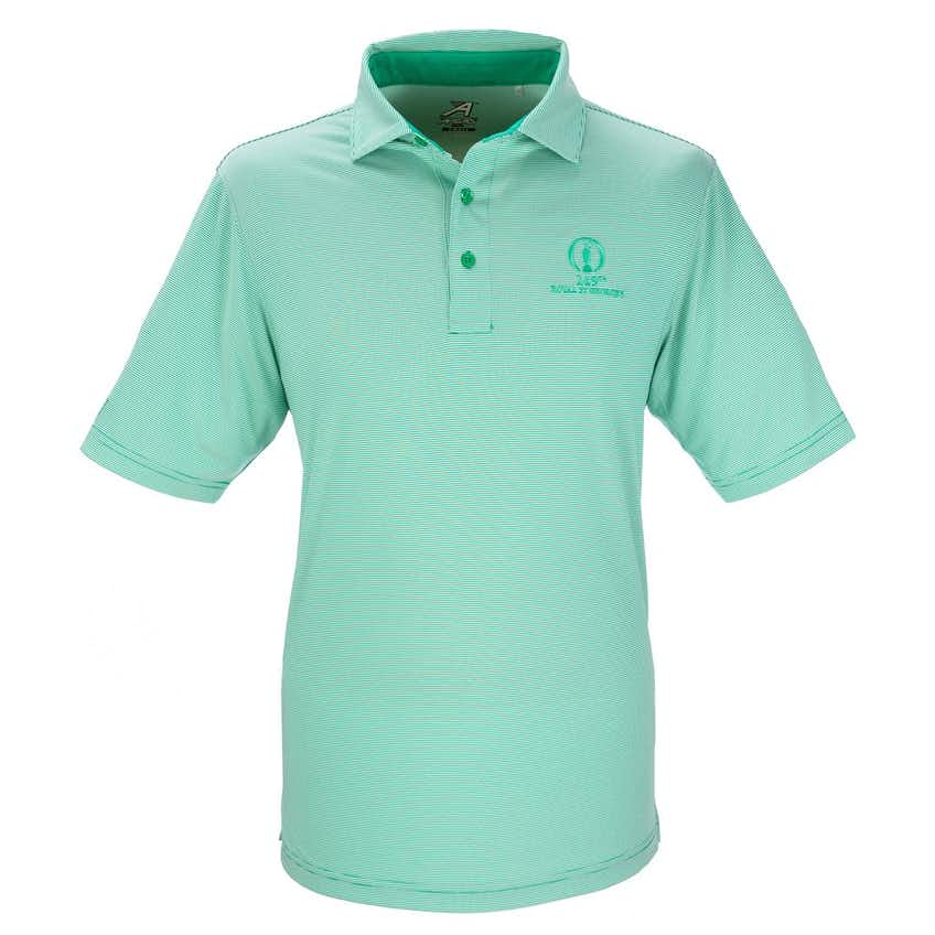 149th Royal St George's Striped Polo - Green