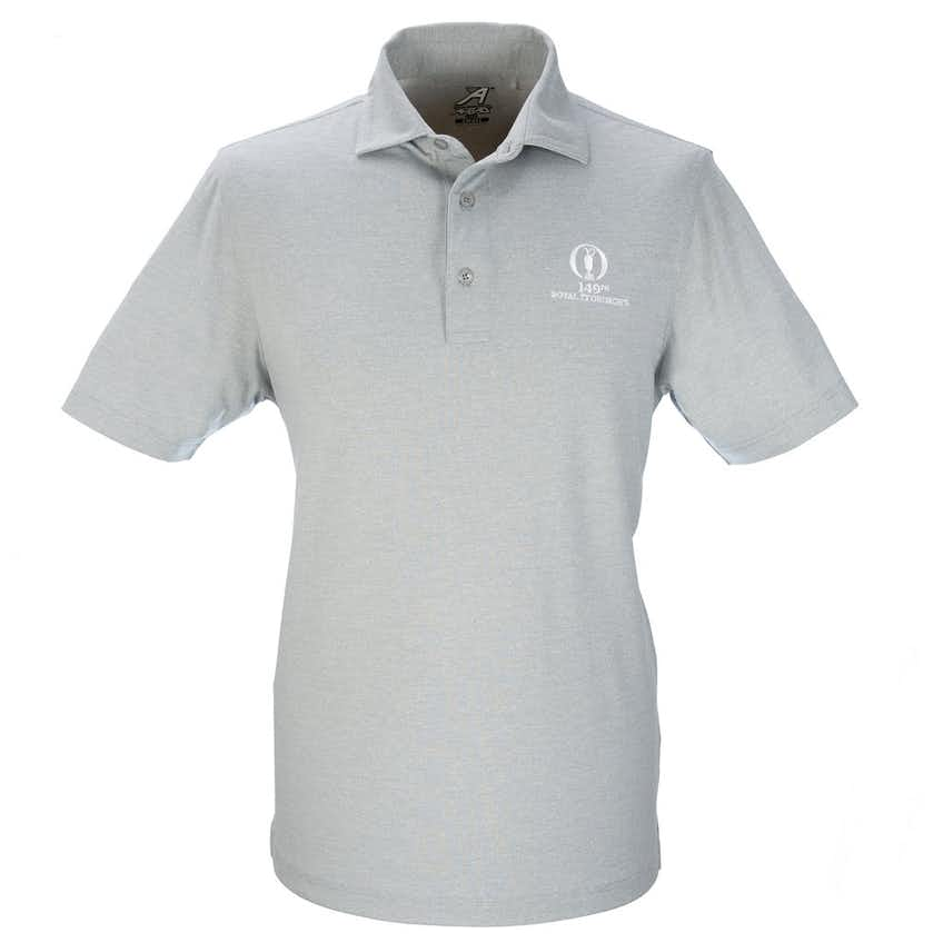149th Royal St George's Plain Polo - Grey