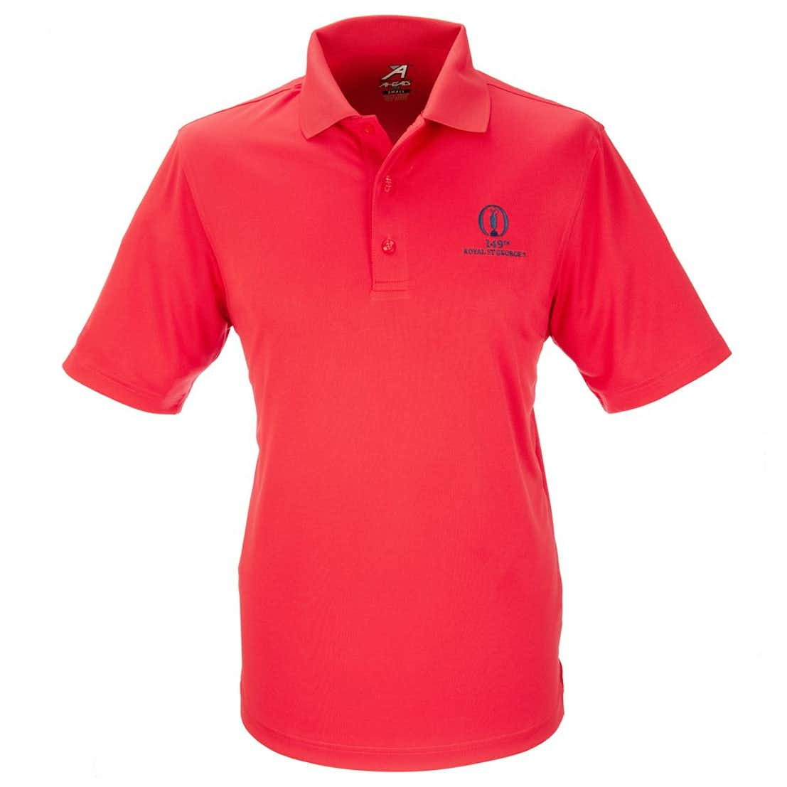149th Royal St George's Plain Polo - Red