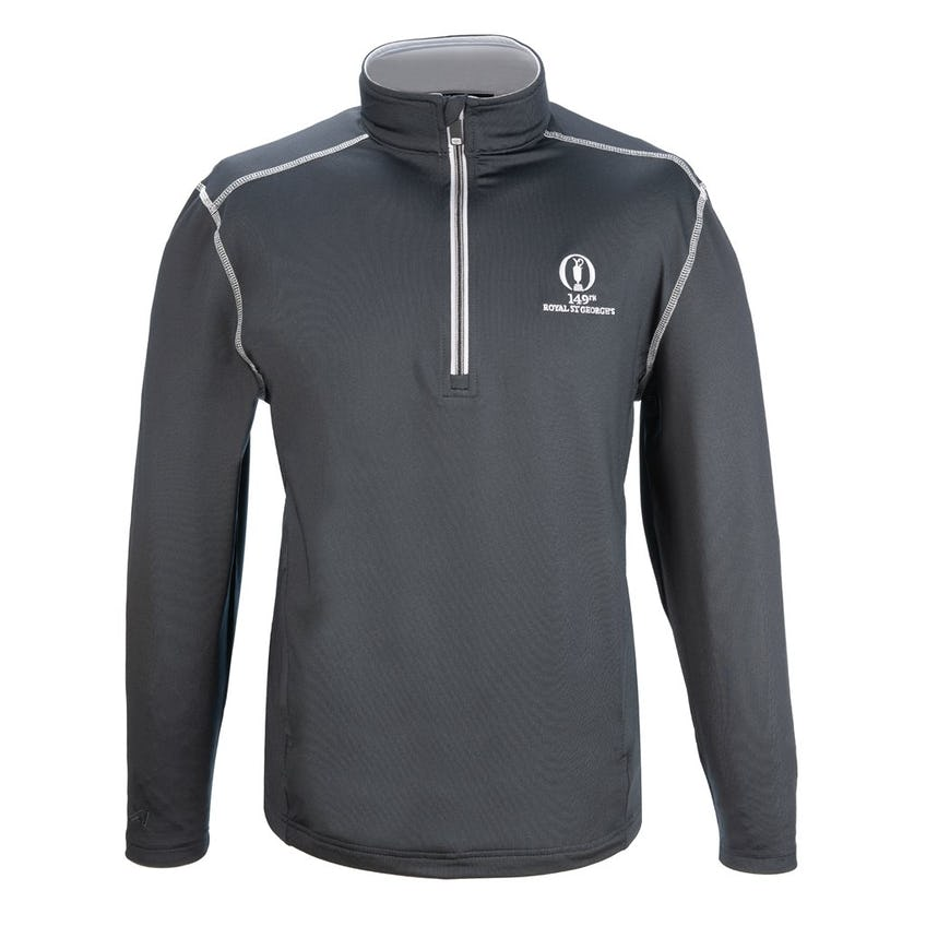 149th Royal St George's 1/4 Zip Layer - Grey 0