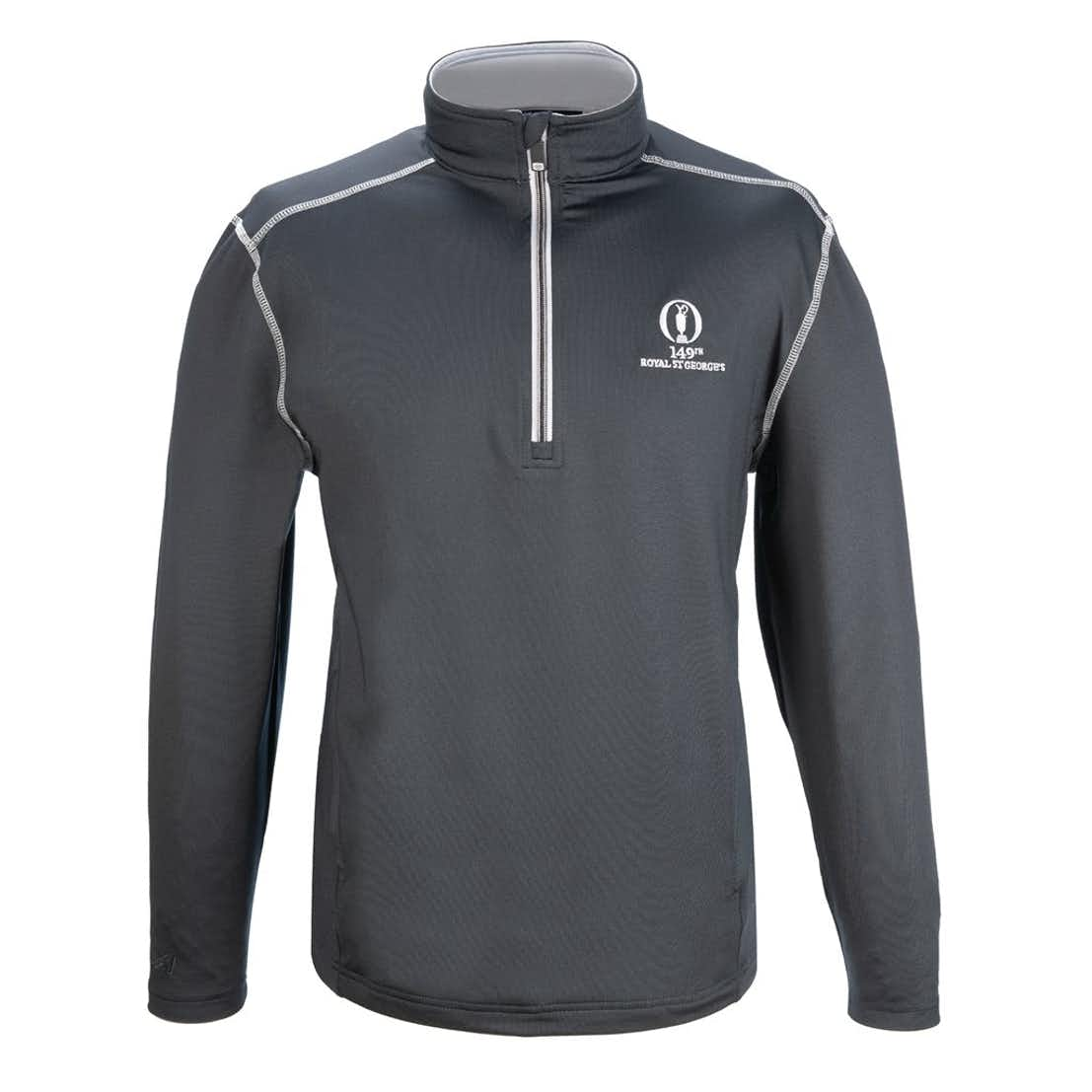 149th Royal St George's 1/4 Zip Layer - Grey