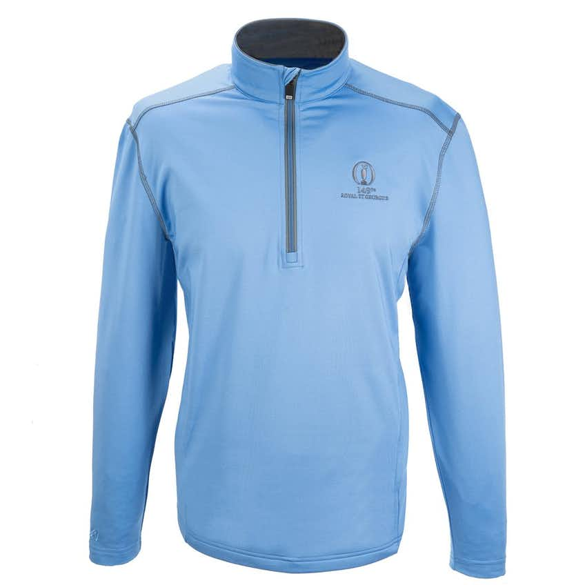 149th Royal St George's 1/4-Zip Layer - Blue