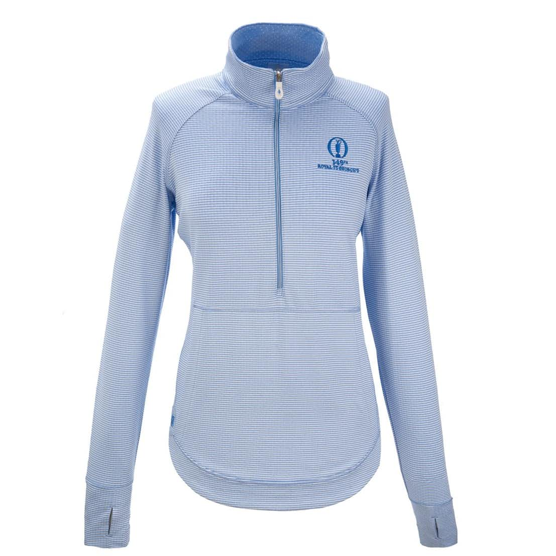 149th Royal St George's Kate Lord 1/4-Zip Layer - Blue