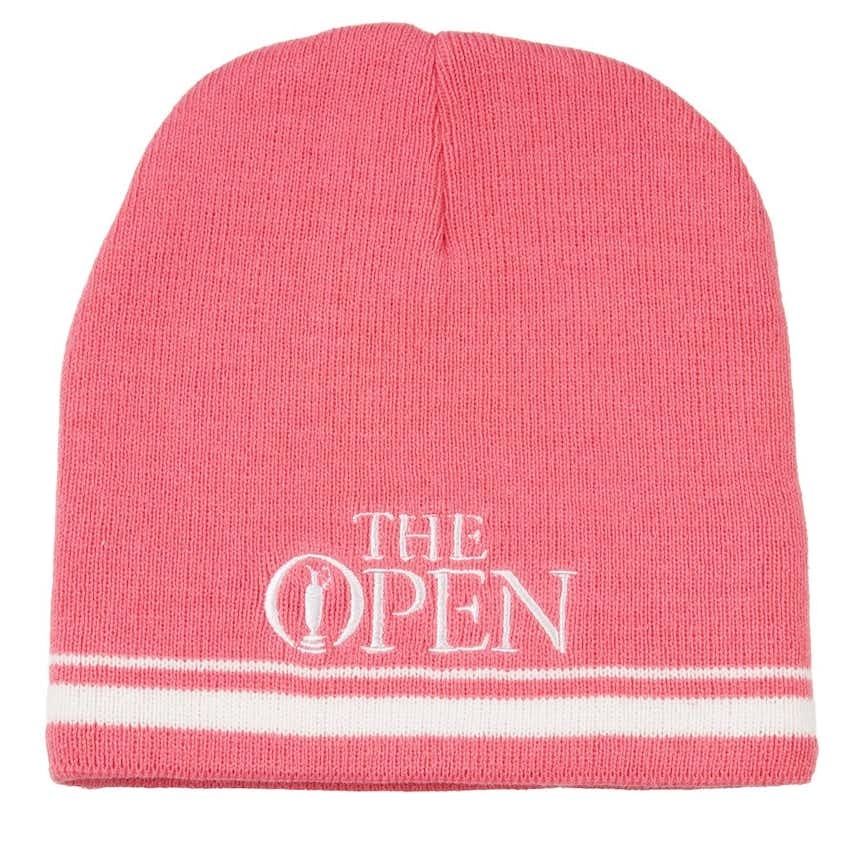 147th Carnoustie Youth Woolly Hat - Pink