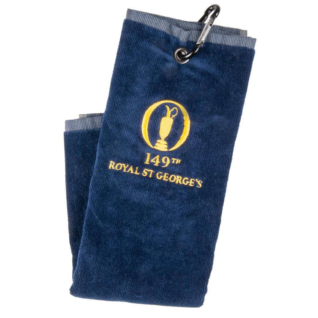 149th Royal St George's Standard Trifold Towel - Navy
