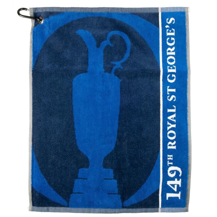 149th Royal St George's Towel - Blue