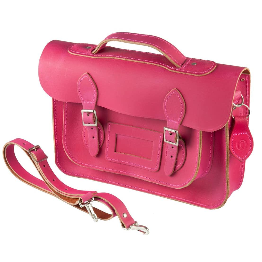 The Open Satchel - Fuchsia