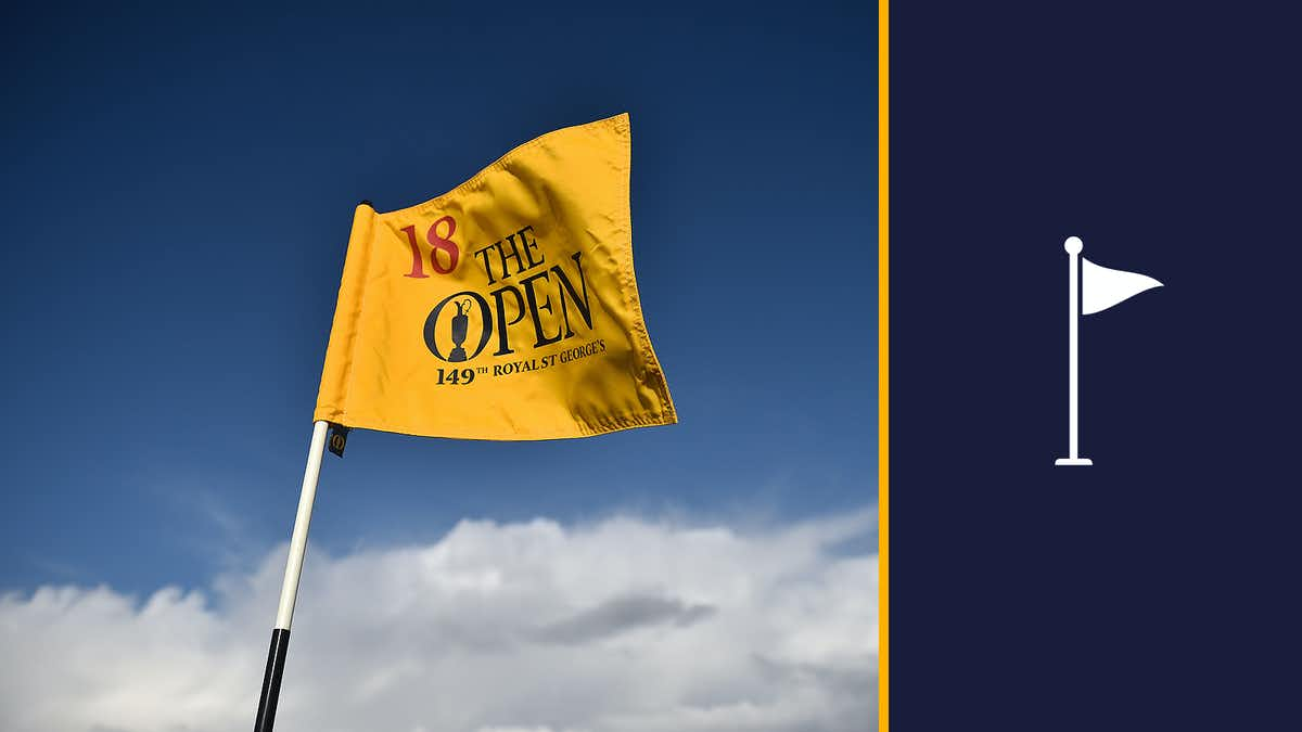The Open Pin Flag Collection