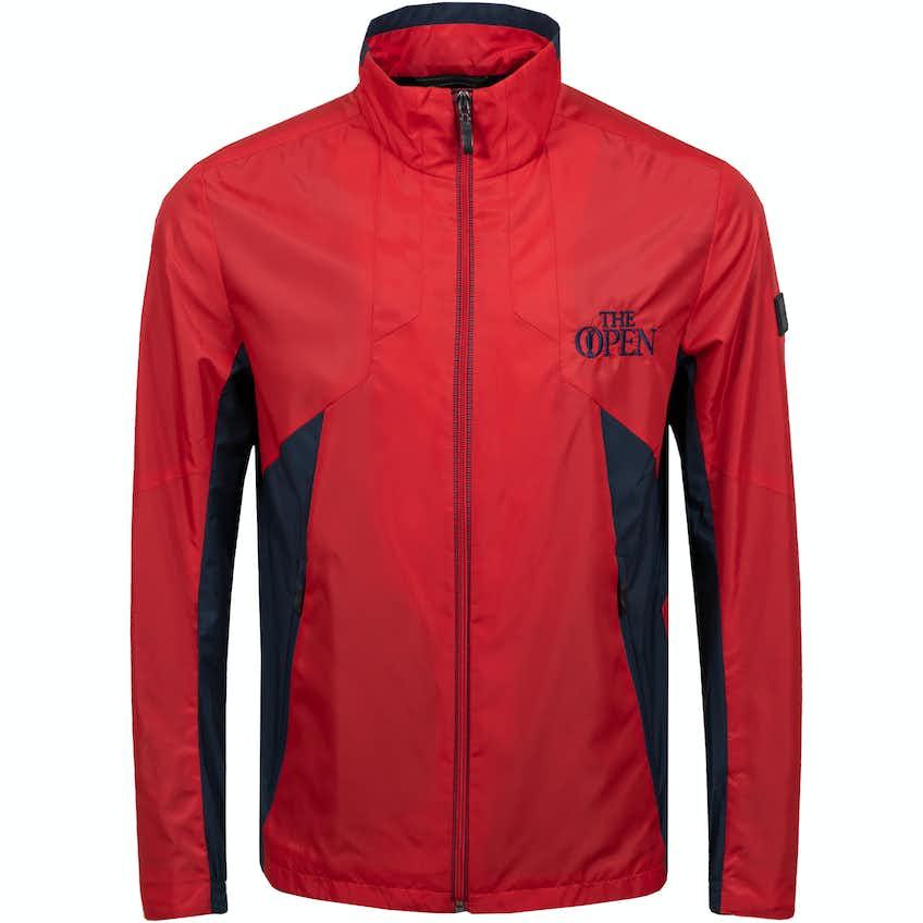 The Open BOSS Full-Zip Jacket - Red