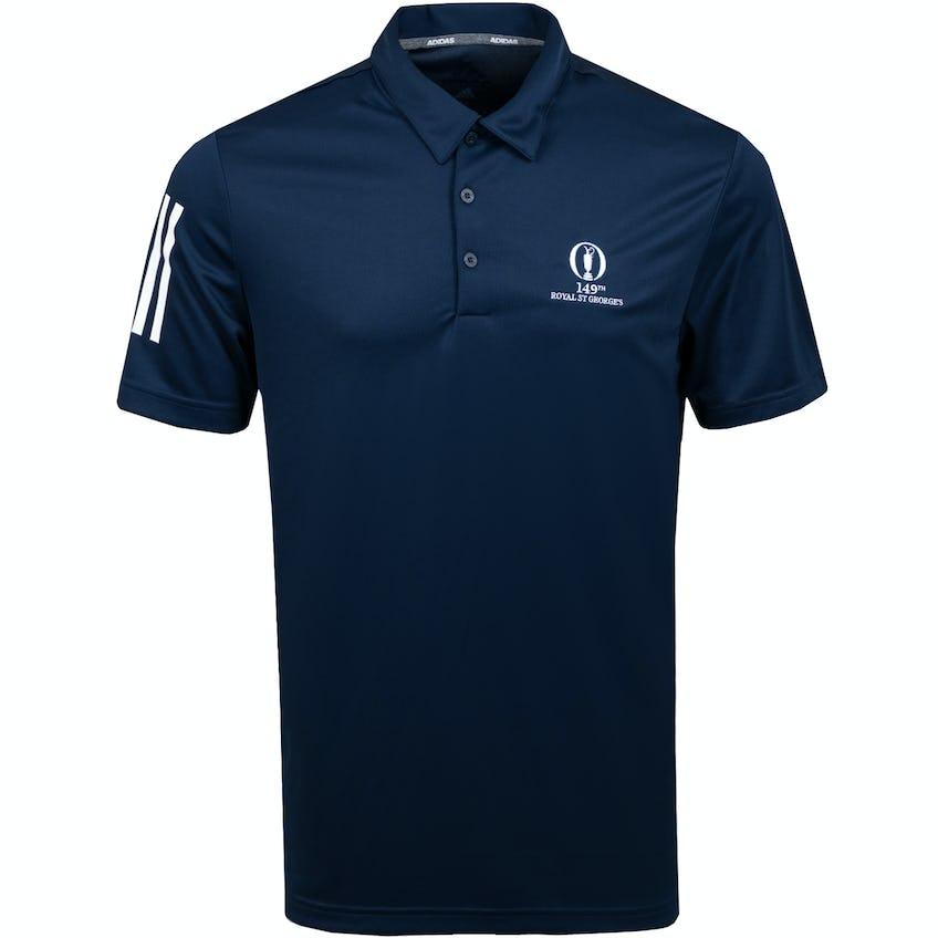 149th Royal St George's adidas Plain Polo Shirt - Blue 0