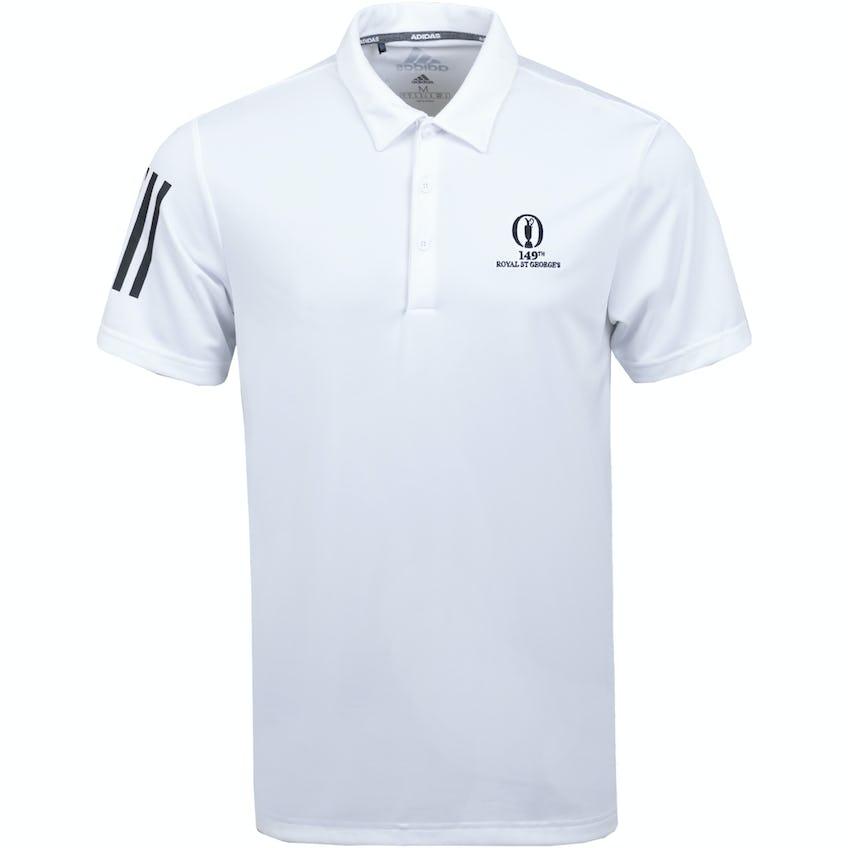 149th Royal St George's adidas Plain Polo Shirt - White 0