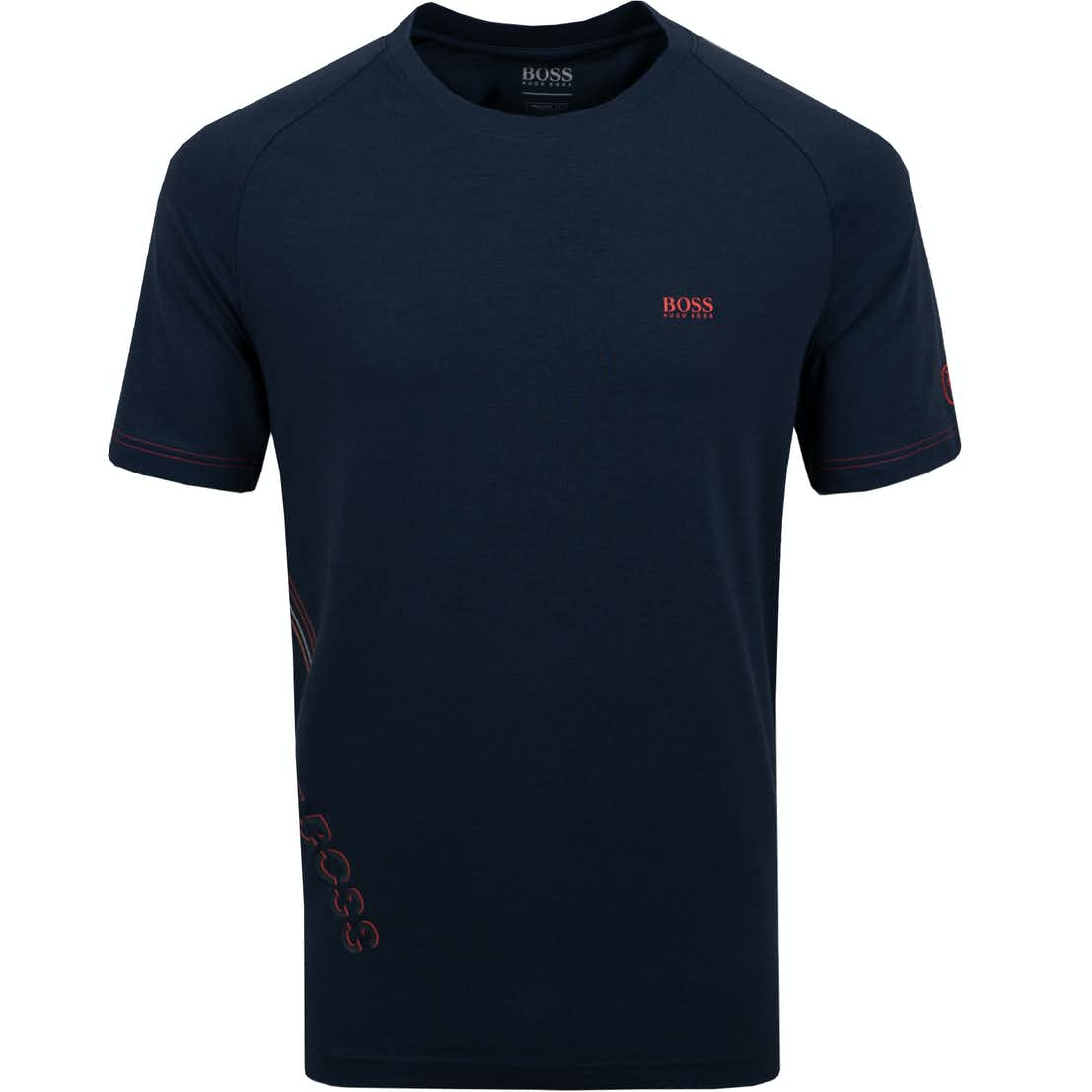 The Open BOSS Plain T-Shirt - Blue