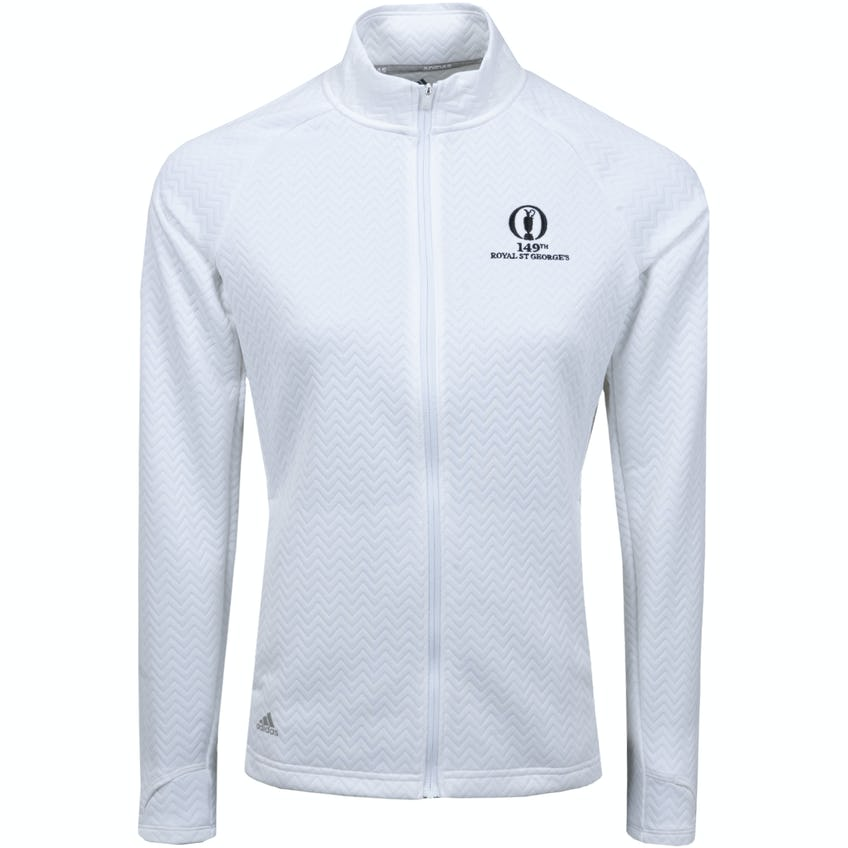 149th Royal St George's adidas Full-Zip Sweater - White