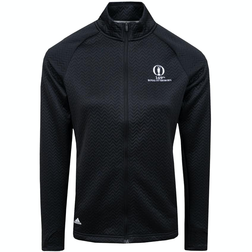 149th Royal St George's adidas Full-Zip Sweater - Black
