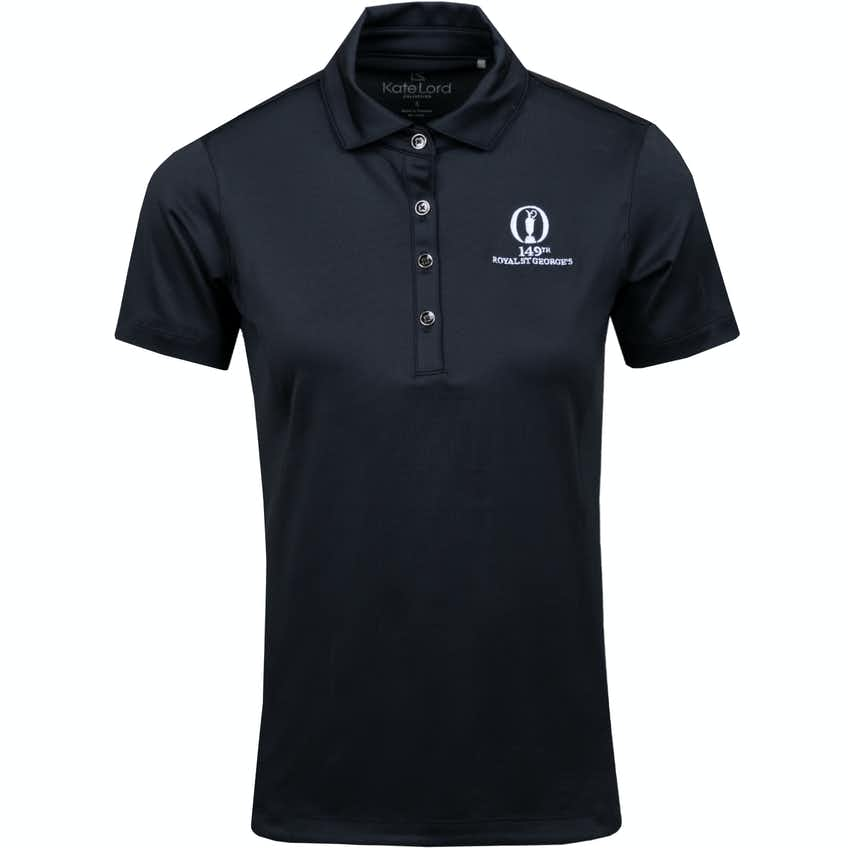 149th Royal St George's Plain Polo Shirt - Black