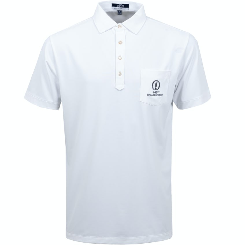 149th Royal St George's Plain Polo Shirt - White 0