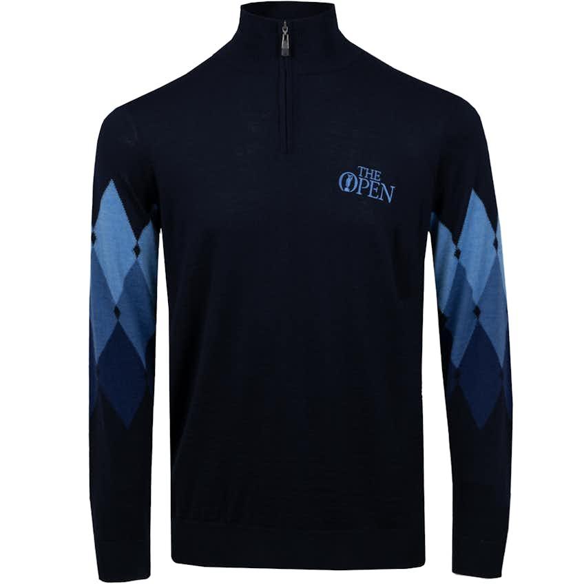 The Open Lyle & Scott 1/4-Zip Pullover - Blue