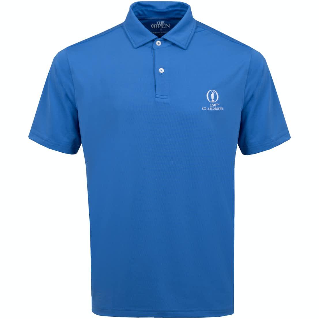 150th St Andrews Plain Polo Shirt - Blue