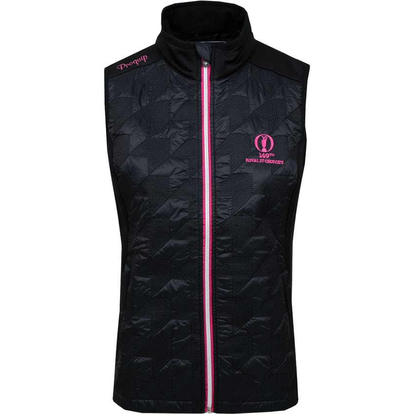 149th Royal St George's ProQuip Therma Tour Gilet - Black 0