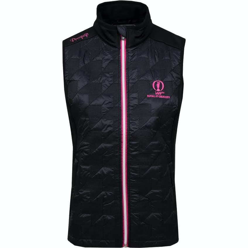 149th Royal St George's ProQuip Therma Tour Gilet - Black