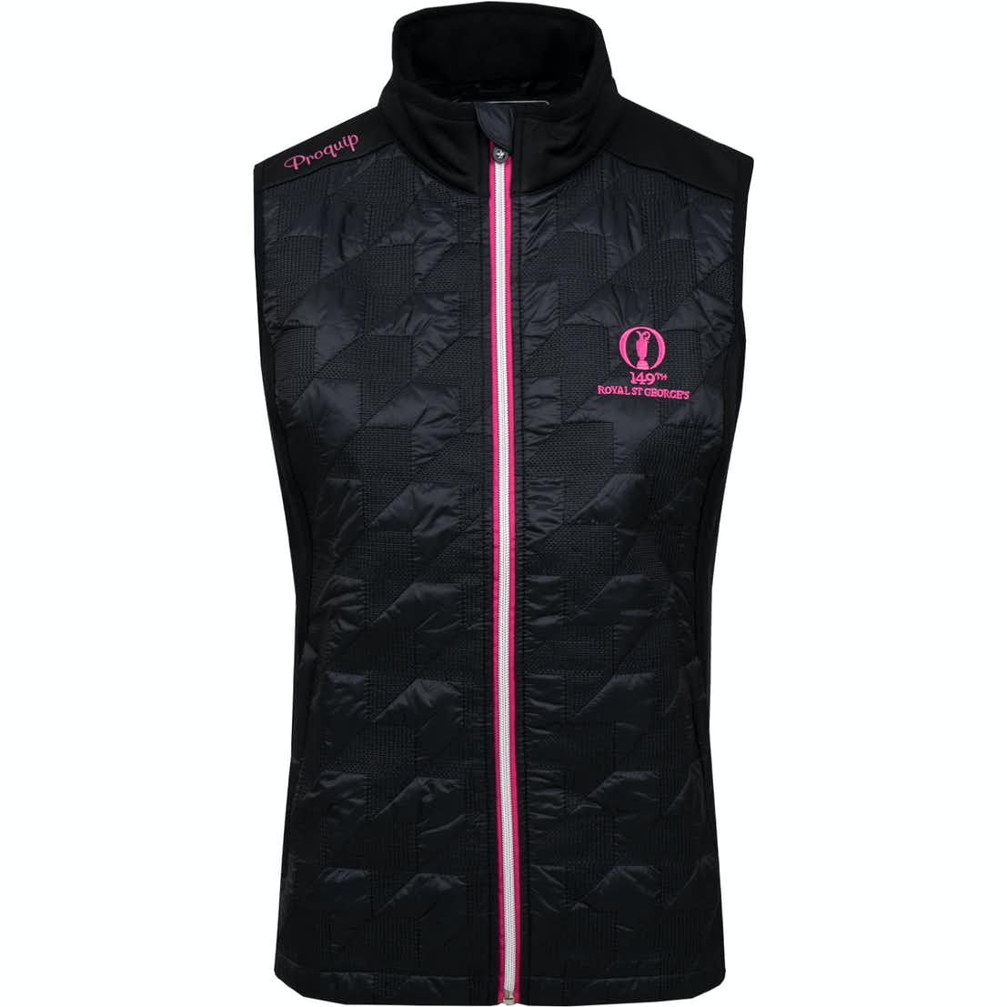 149th Royal St George's Therma Tour Gilet - Black
