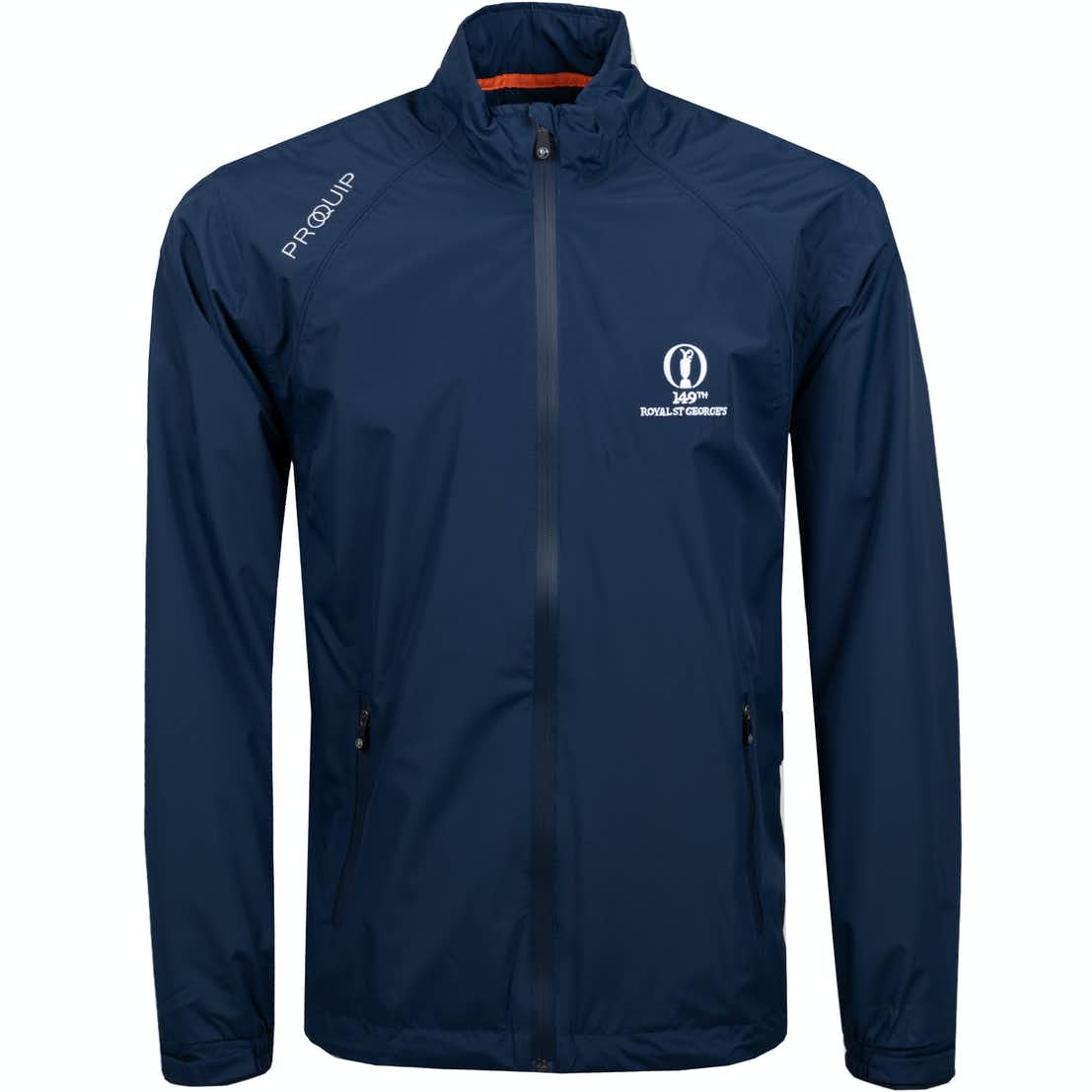 149th Royal St George's Tempest Waterproof Jacket - Blue