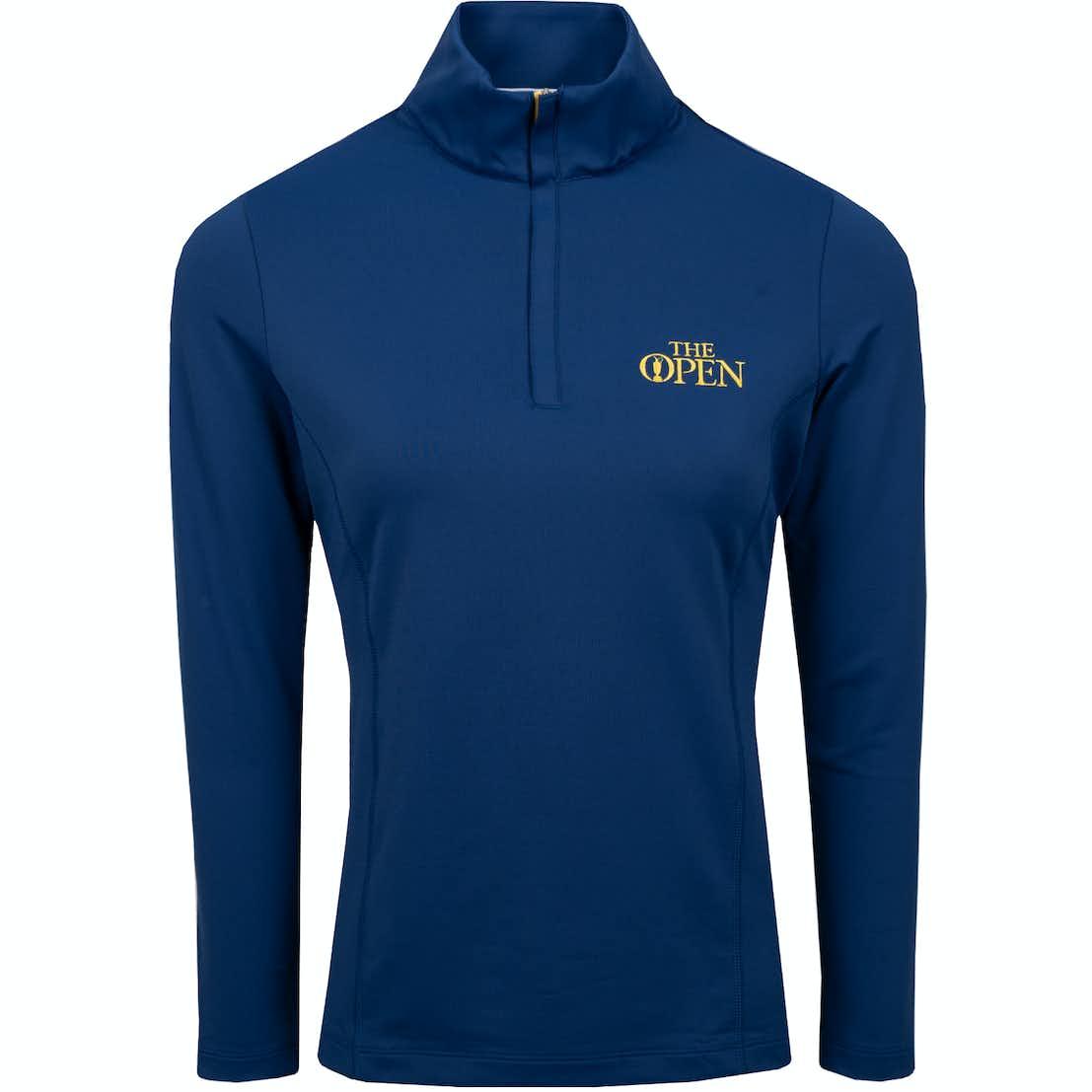 The Open 1/4-Zip Sweater - Blue