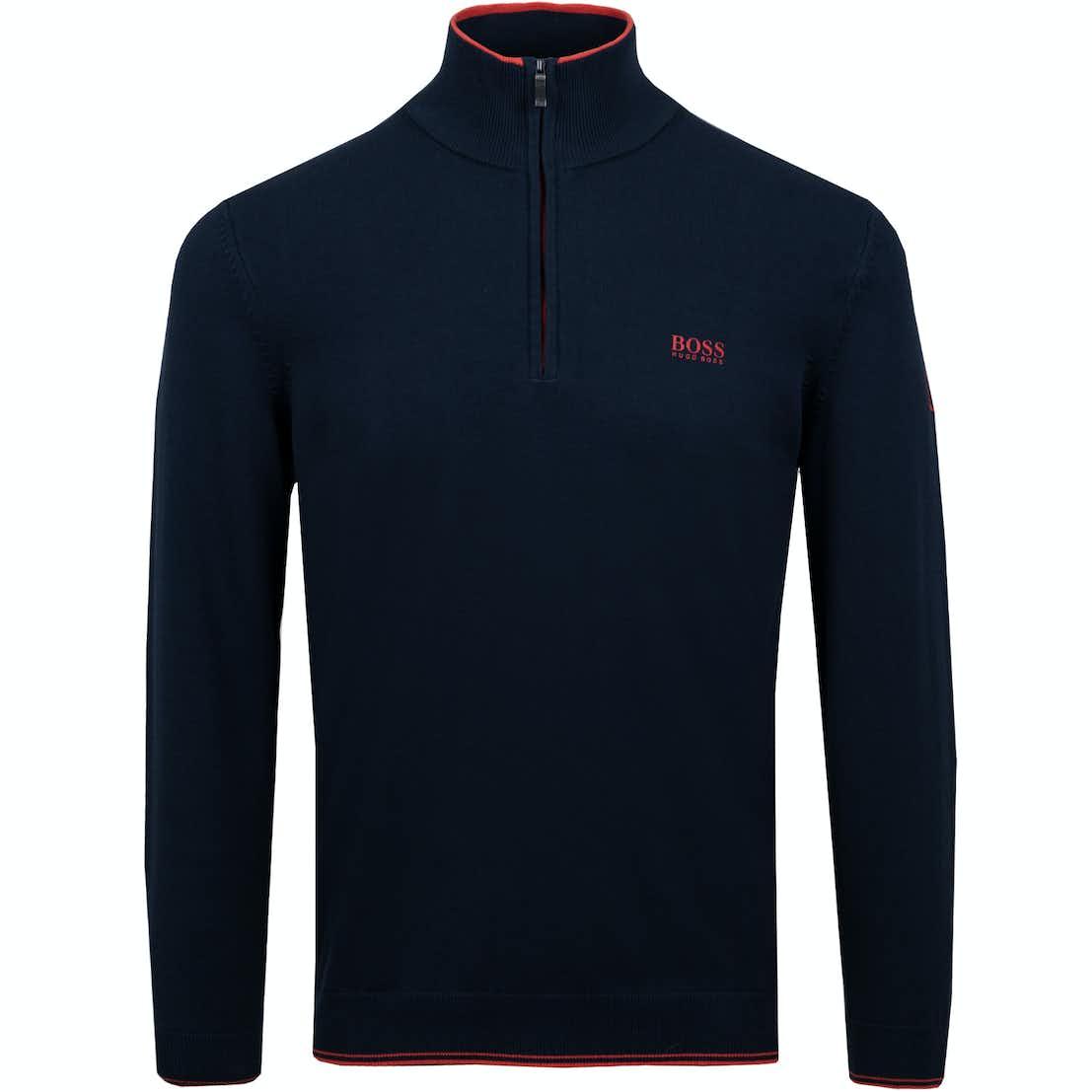 The Open BOSS 1/4-Zip Sweater - Blue