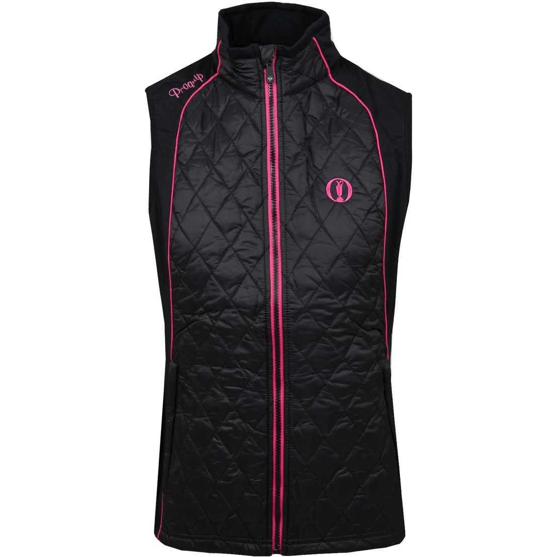 The Open Quilted Therma Tour Gilet - Black