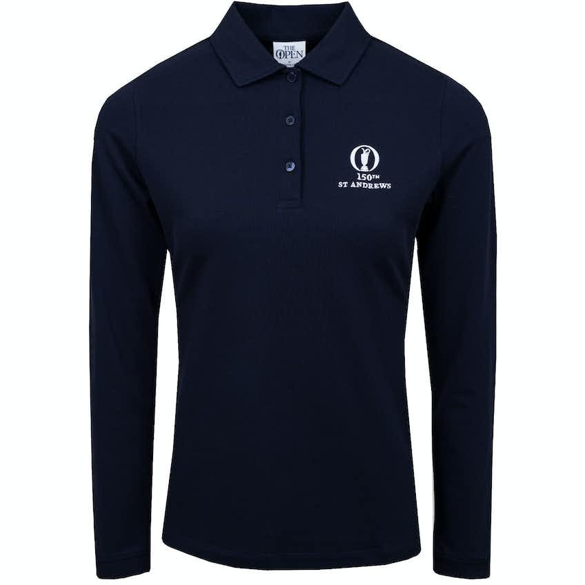 150th St Andrews Fairway & Greene Long-Sleeved Polo Shirt - Blue