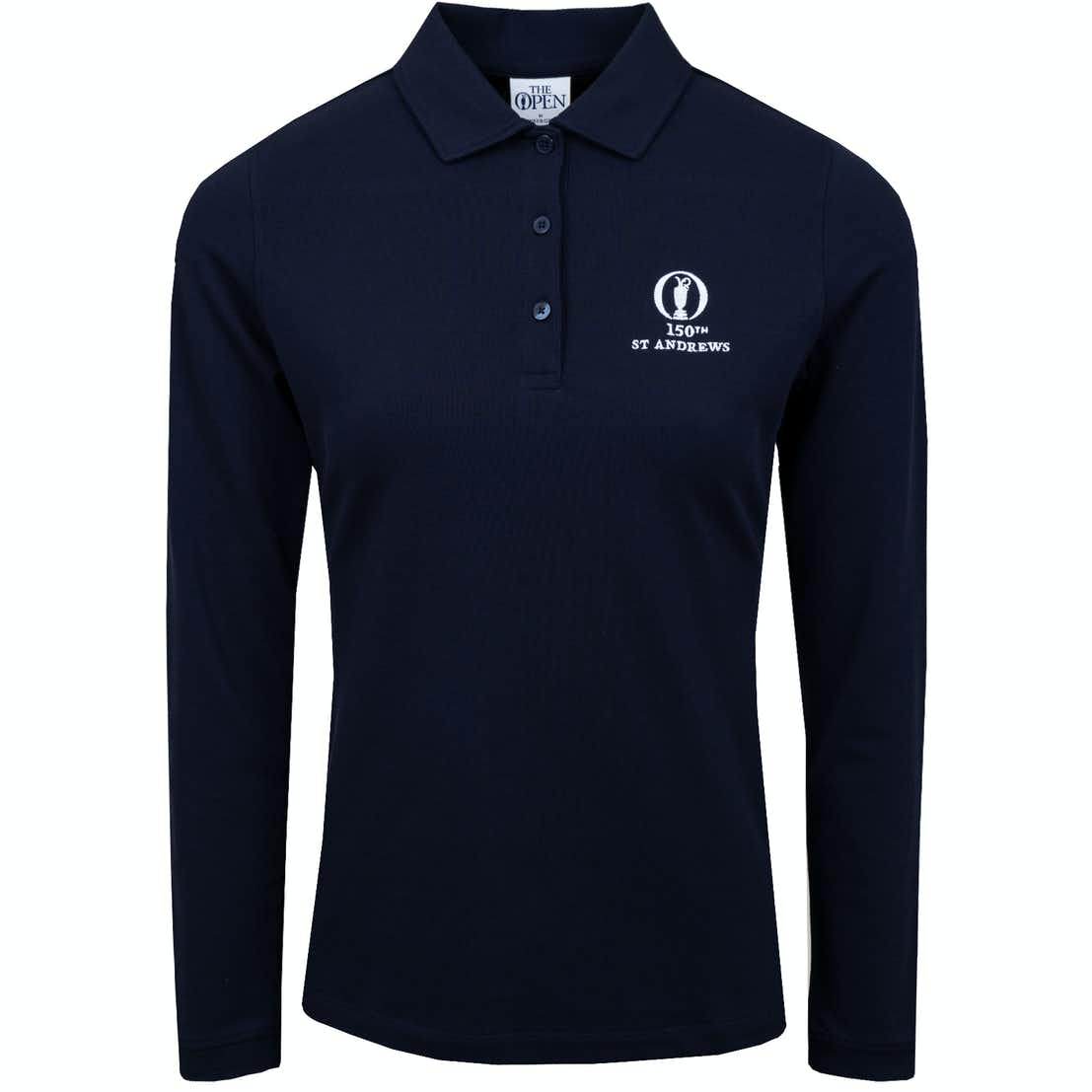 150th St Andrews Long-Sleeved Polo Shirt - Blue