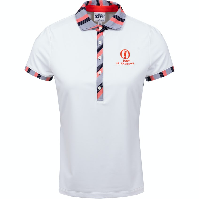 150th St Andrews Fairway & Greene Plain Polo Shirt - White