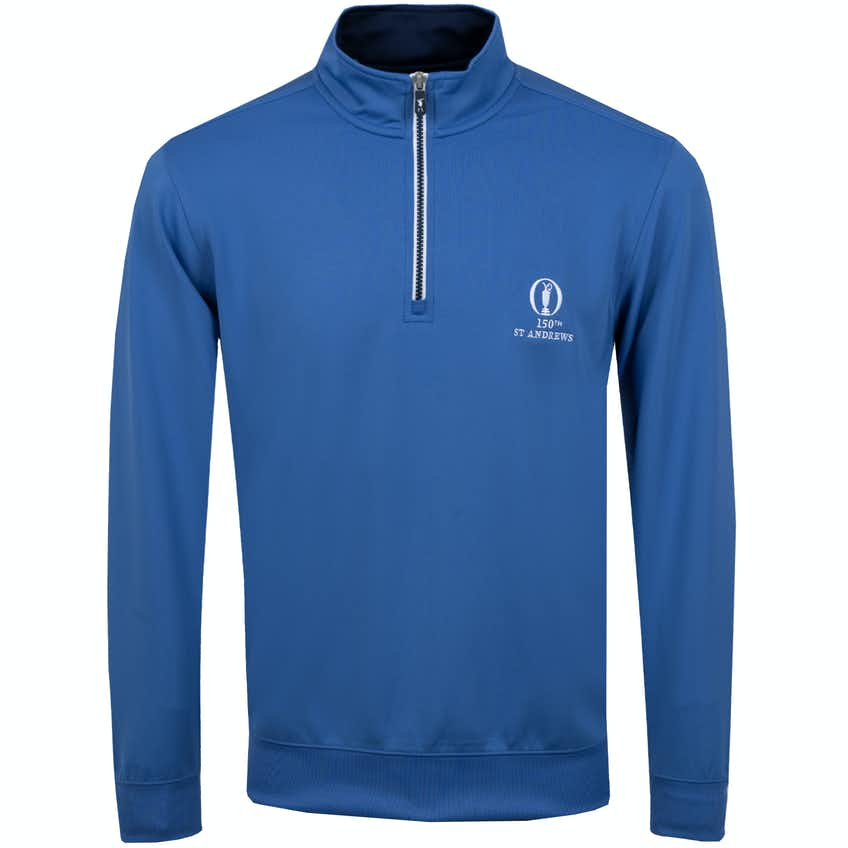 150th St Andrews 1/4-Zip Sweater - Blue