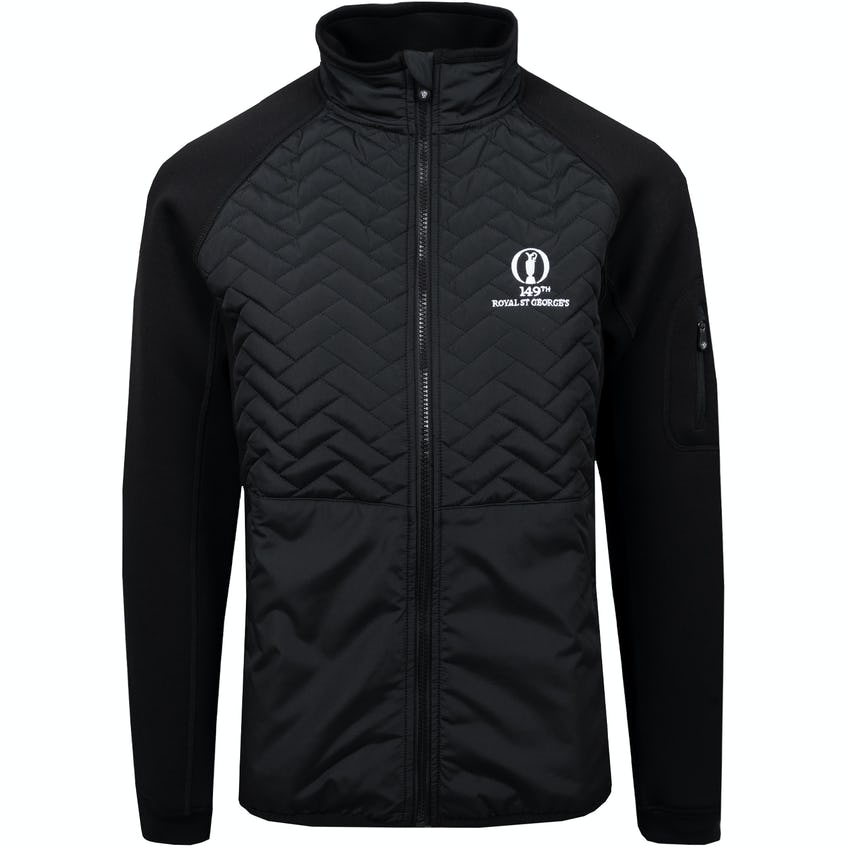149th Royal St George's ProQuip Therma Gust Quilted Jacket - Black 0