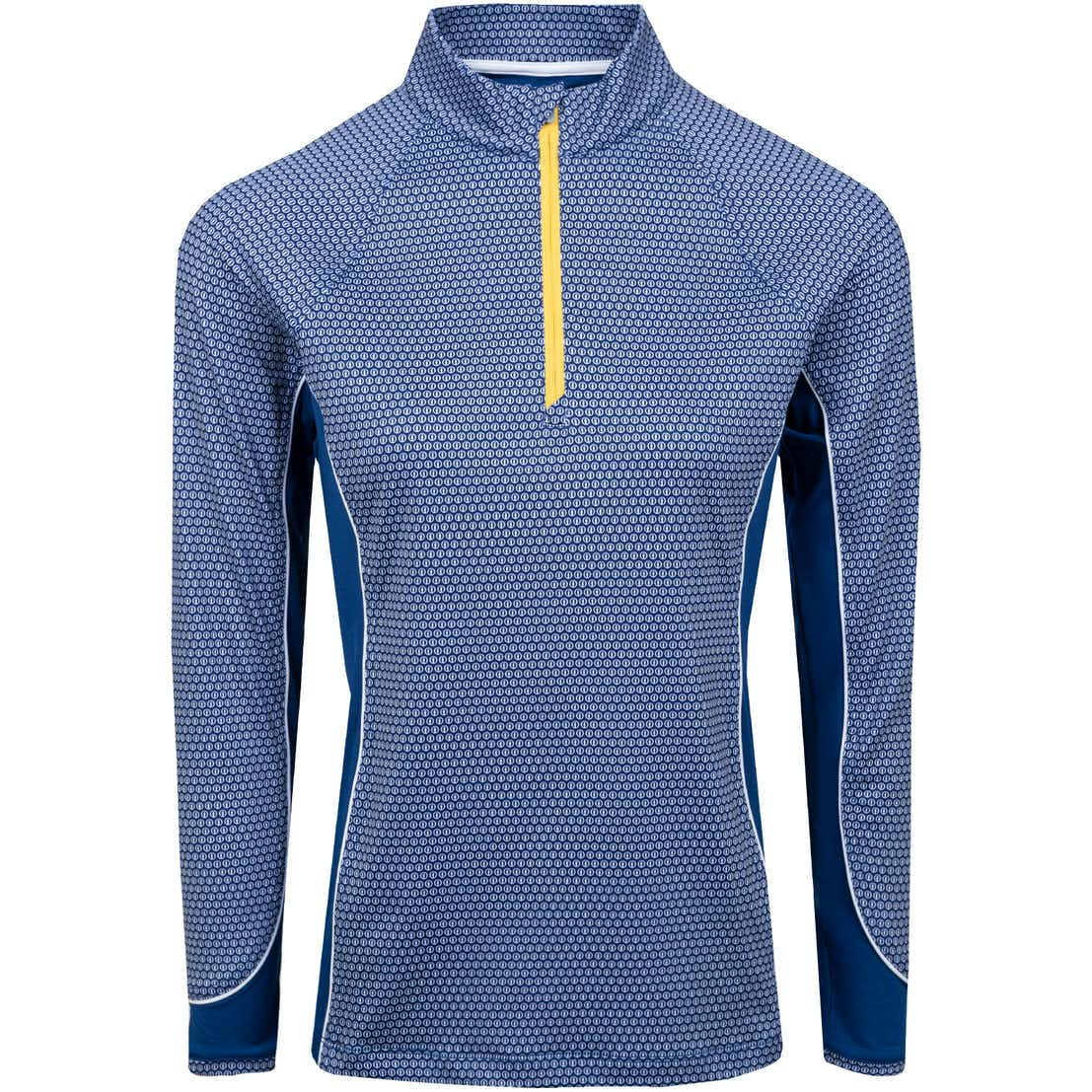 The Open 1/4-Zip Layer Sweater - Blue