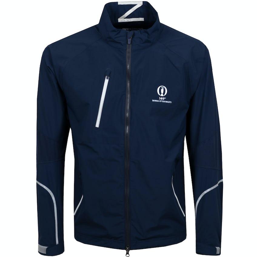 149th Royal St George's Zero Restriction Waterproof Jacket - Blue