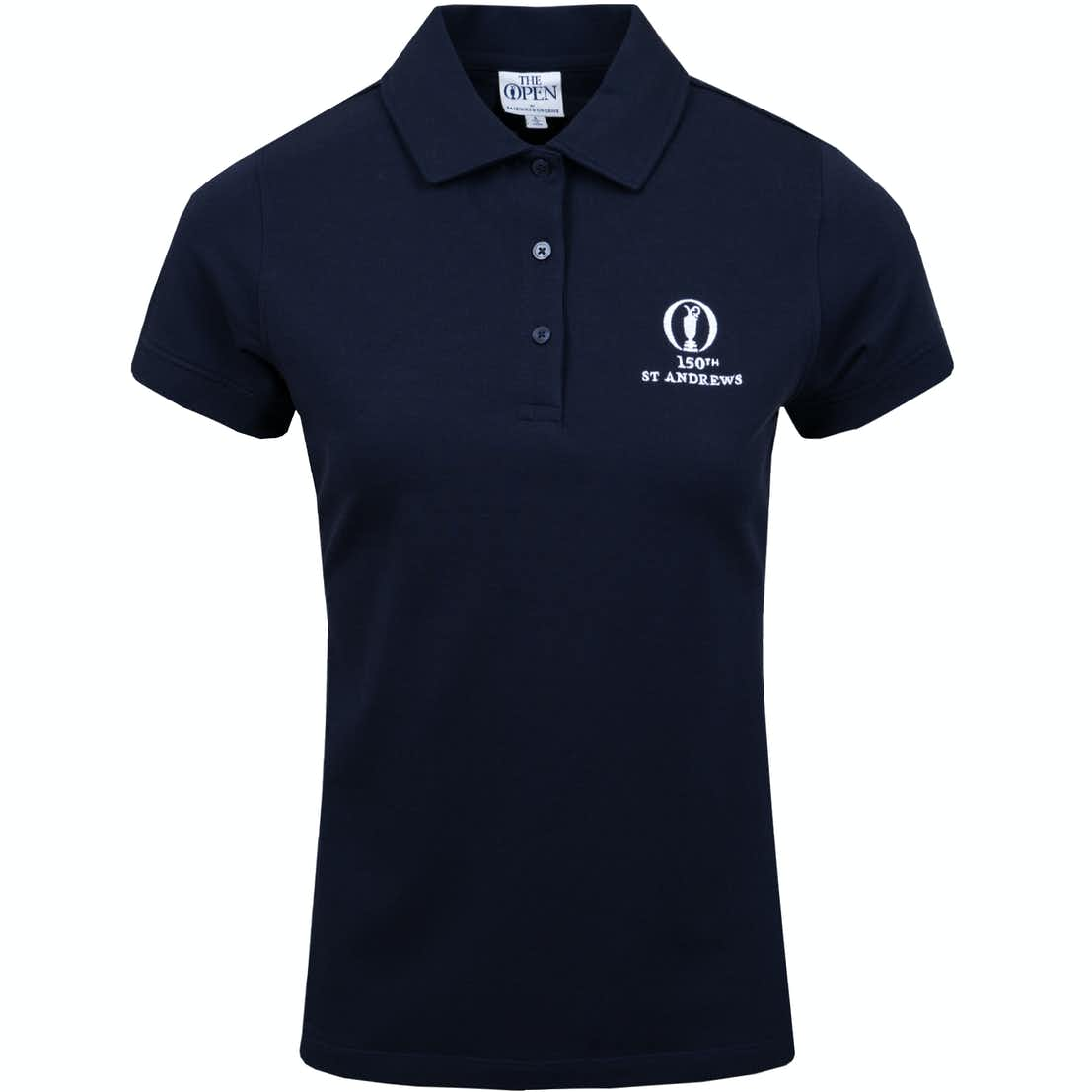 150th St Andrews Plain Polo Shirt - Blue