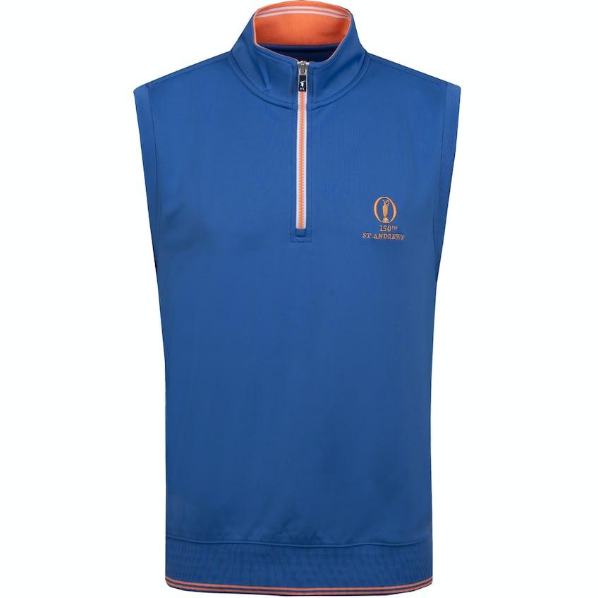 150th St Andrews 1/4 Zip Vest - Blue 0